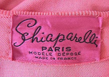 shocking pink rooms - shocking pink Schiaparelli label - sparklestyle via atticmag