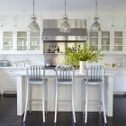 updating white kitchens - generic white kitchen - robert stiles architecture via atticmag