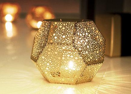 tea light holder - Brass Etch tea light holder by Tom Dixon - suiteny via atticmag
