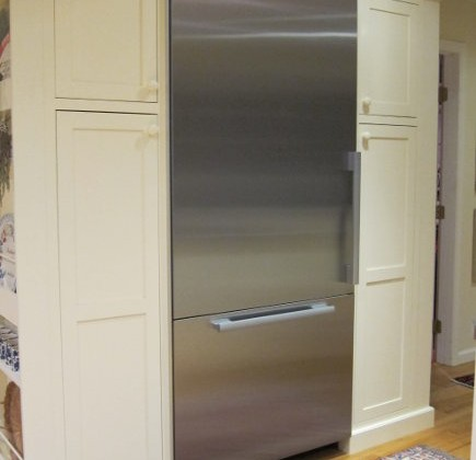 built in refrigerator - 36-inch bottom mount Miele KF1911 - atticmag