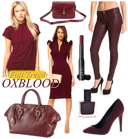 color of the year 2015 - oxblood in fashion for 2012 - intheircloset.com via atticmag