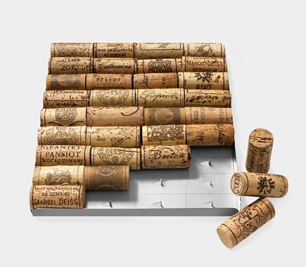 modern museum gifts - bakus wine cork trivet - museum of modern art via atticmag