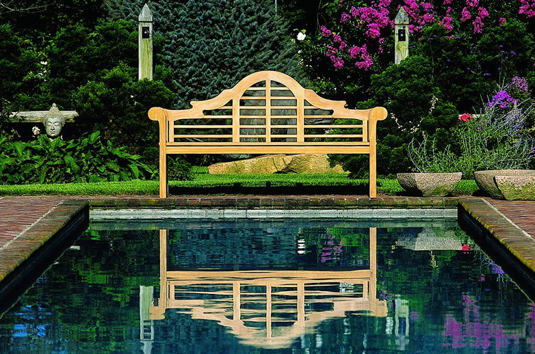 Wondrous One Stunning Garden Bench Atticmag Gmtry Best Dining Table And Chair Ideas Images Gmtryco