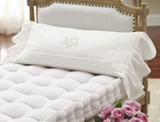 French mattress - white upholstered wood-frame French daybed with white French mattress - casastephensinterior design via Atticmag