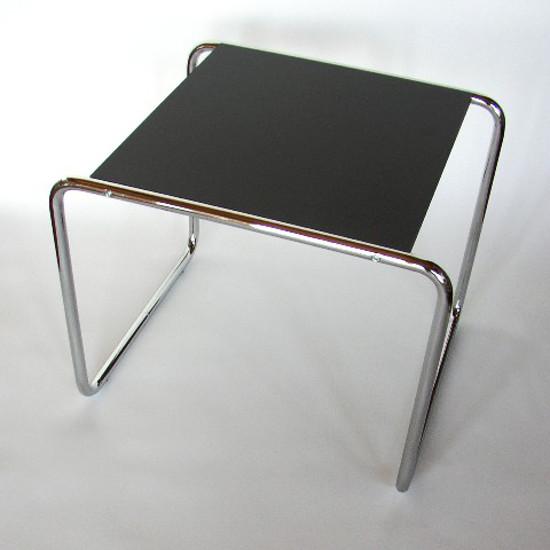 designer furniture - Marcel Breuer small Laccio nesting table, 1924 - pallazzetti.com via atticmag