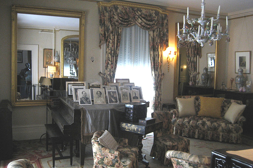 Dresden room of President Franklin Delano Roosevelt's home, in Hyde Park, N.Y - Atticmag