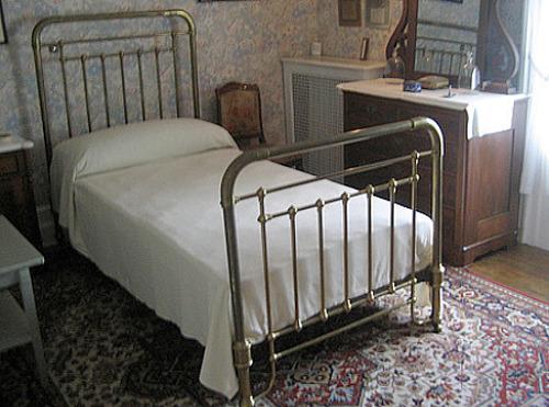boyhood bedroom of FDR - President Franklin Delano Roosevelt's home, in Hyde Park, N.Y - Atticmag