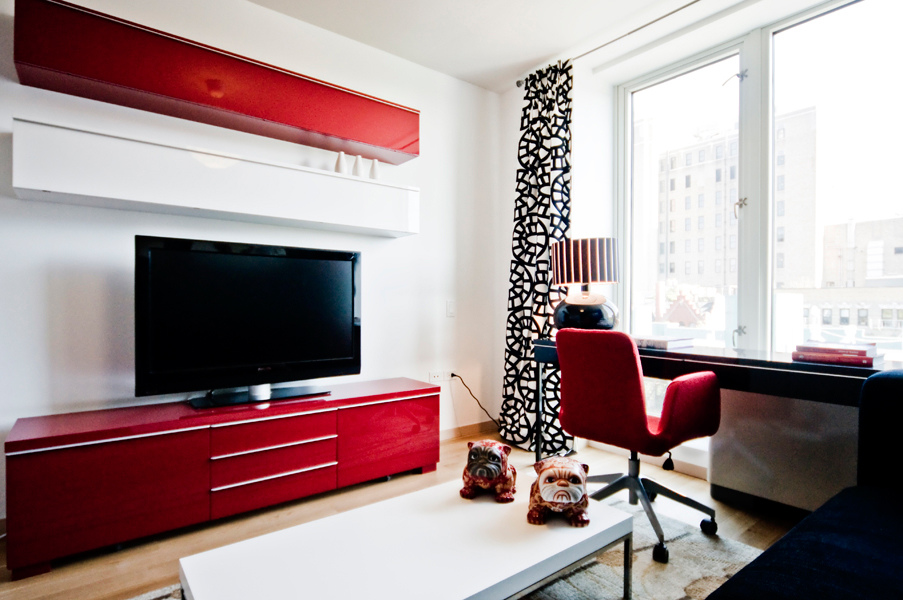 Charmant Ikea Penthouse   Media Room With Besta Burs Media Cabinets   Craig Paulson  Via Atticmag
