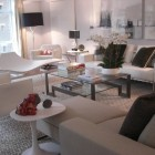 inspired design showhouse - white living modern living room by inson, dubois, woods - Atticmag
