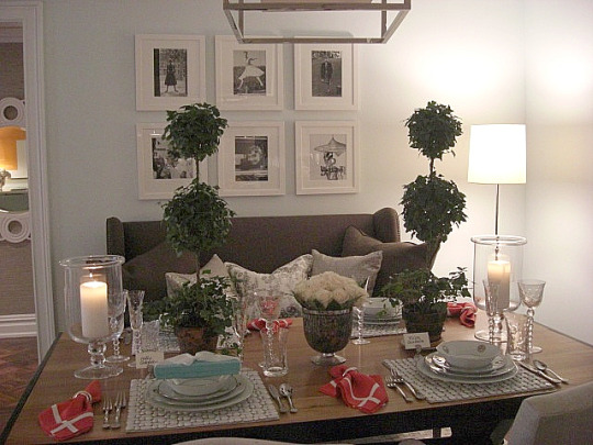 inspired design showhouse - family dining room by Patricia Fisher - Atticmag