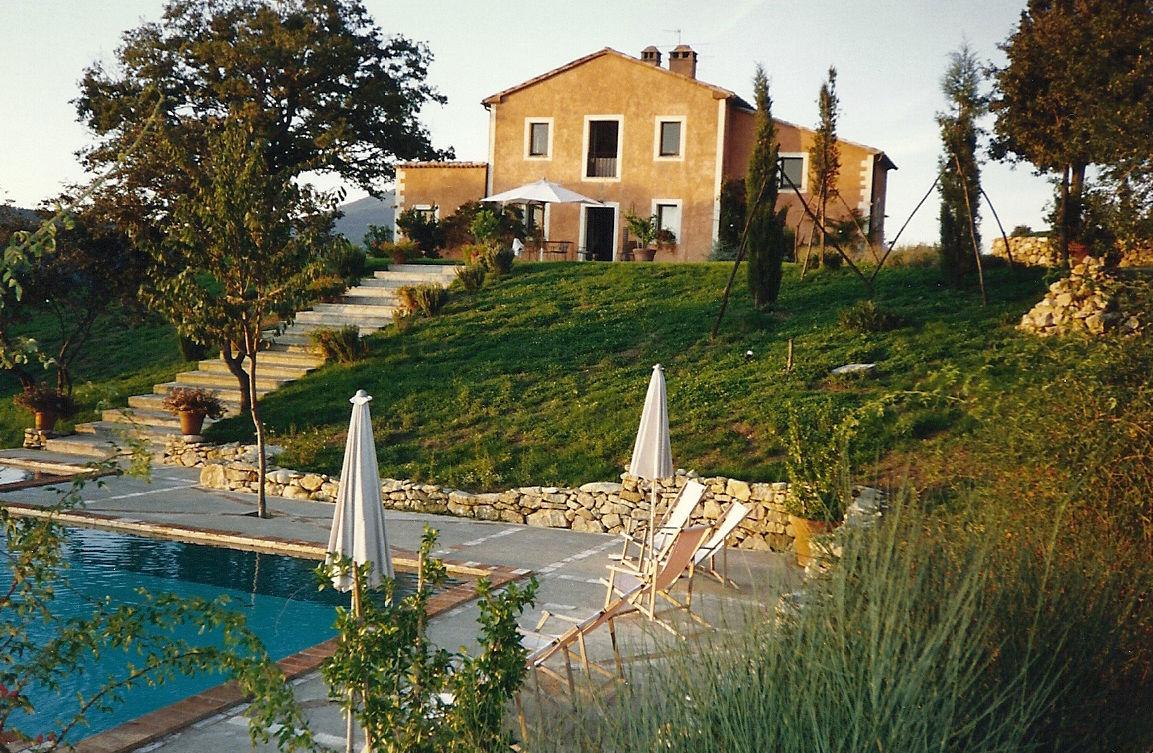 Tuscan villa rental in San Casciano dei Bagni - Atticmag
