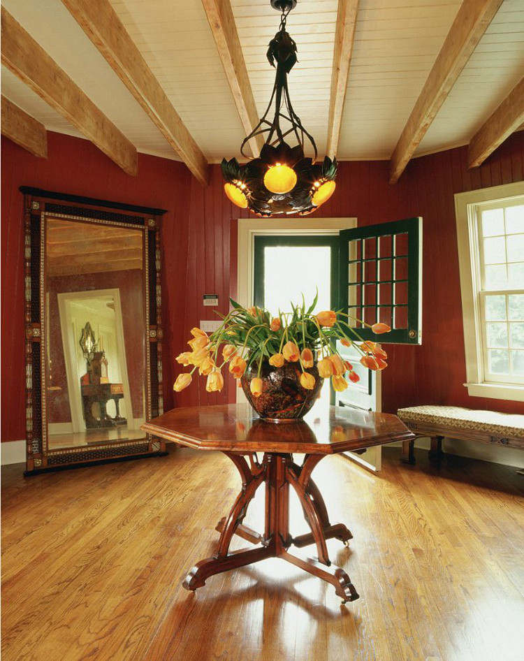 DeRose Windmill Cottage - entry to the windmill section of the historic Victorian house with attached windmill - Brown, Harris Stevens via Atticmag