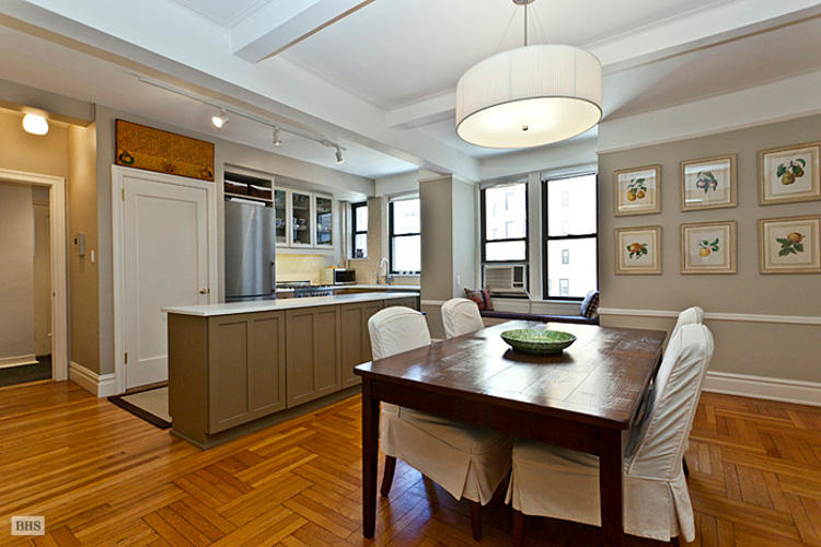 my house - my renovated NYC apartment dining room and kitchen - Atticmag