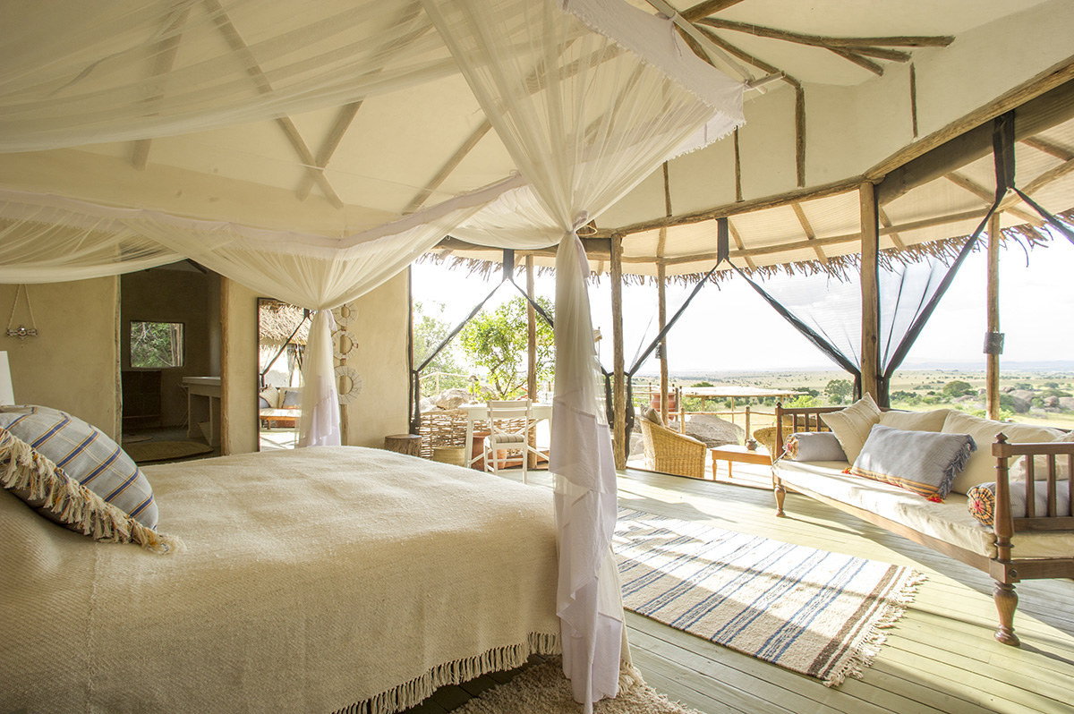 Once You See The Robert Redford Meryl Streep Film Out Of Africa Romance A High End Safari Camp Bedroom Is Clear