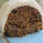 christmas pudding cake - spicy cake with Grand Marnier marinated dried fruit - Atticmag