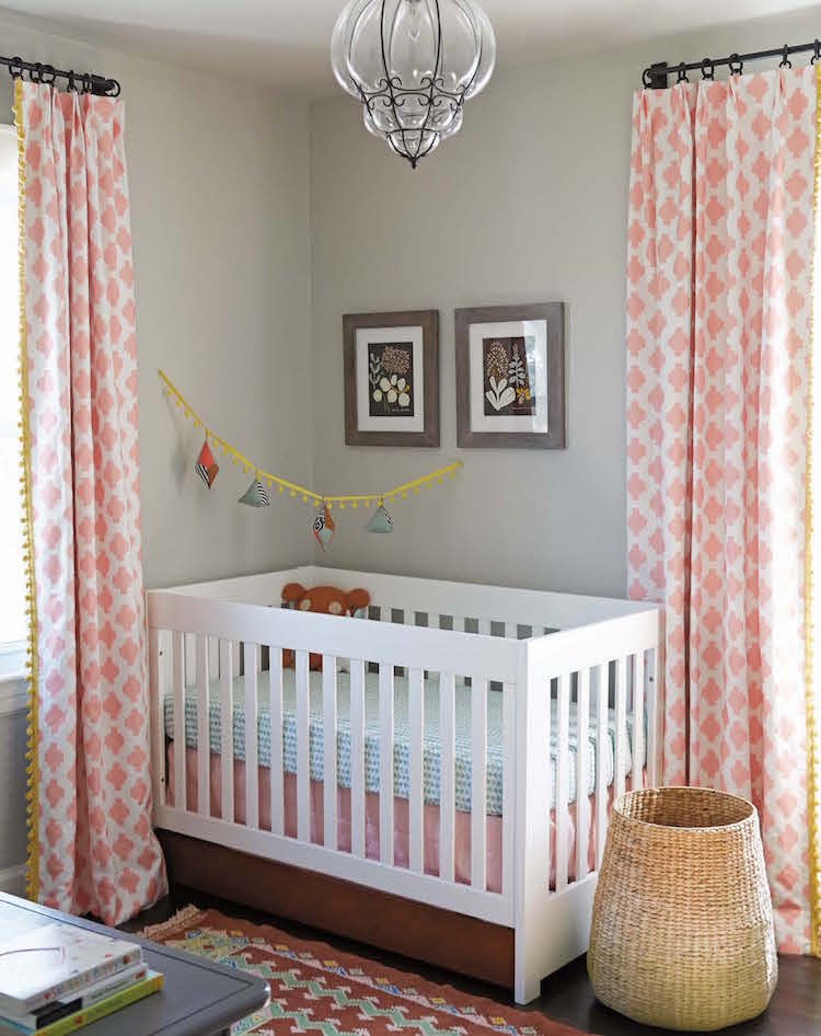 The Sophisticated Nursery from Apartment Therapy Complete + Happy Home decor book by Maxwell Ryan and Janel Laban; photos by Melanie Acevedo - Potter Style via Atticmag