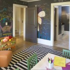 blackboard - kid's playroom in an Atlanta show house - Westbrook Interiors via Atticmag