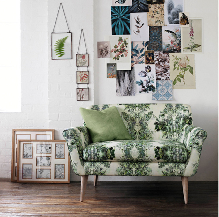 home décor trends - Marks and Spencer Harper Love seat in Aristo fabric - House to Home via Atticmag
