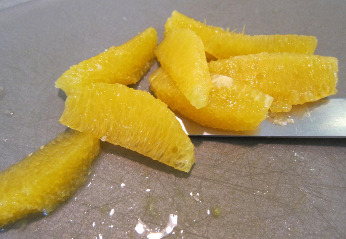 citrus salsa - orange segments cleanly removed from the membrane - Atticmag