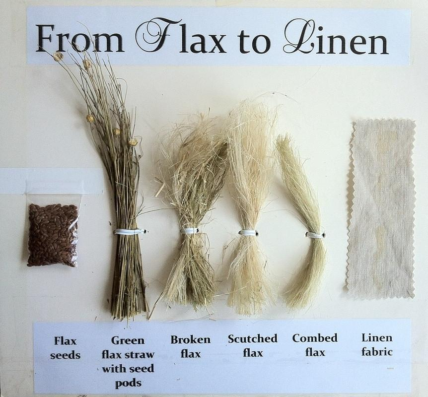 linen bed sheets - flax from seed to linen fabric - flaxlinen via Atticmag