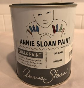 repurposed china cabinet with Annie Sloan Old Ochre chalk paint - Atticmag